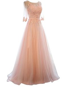 Designer Clothes, Shoes & Bags for Women Long Party Gowns, Holiday Party Dresses, Long Evening Gowns, Homecoming Dresses Long, Tulle Prom Dress, Prom Gowns, Long Cocktail Dress, Evening Cocktail, Evening Party