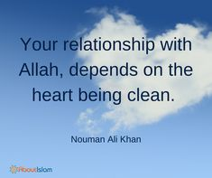 Keep your heart clean.