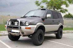 Grey Nissan Terrano 2, Off Road Wagon, Offroader, Ford Maverick, Nissan Patrol, Mitsubishi Pajero, Jeep Grand Cherokee, Cars And Motorcycles, Vehicles