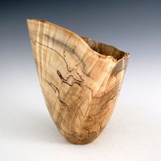 Maple Burl Wood Turned Bowl  Men or Women  Gift by JLWoodTurning