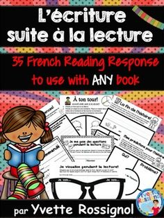 This resource is part of a GROWING BUNDLE. You can check it out here!Growing Bundle (criture SANS prparation 35 French Writing Prompts)35 NO PREP reading response to use with ANY book! In many cases, I give you the choice to use drawing only, writing and drawing or just writing as I really try to allow for differentiation in your classroom.