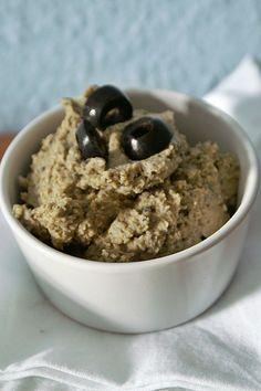 Not your average falafel-Black Olive Hummus
