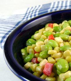 Corn and Edamame Succotash