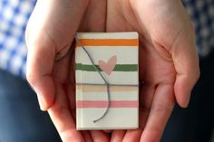 you are my fave: accordion thank you note/ easy for the minis to make