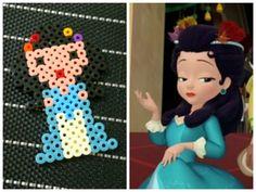 Princess Hildegard - Sofia the First  hama perler beads by Love Cupcoonka - www.facebook.com/hamabeadshobby