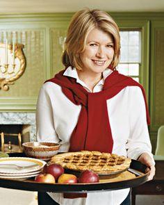 Embellished Pie Crusts   Martha Stewart Living - Once a baker, always a baker.