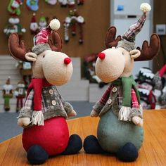 Hobbies Unlimited Portland Or Christmas Moose, Christmas Holidays, Christmas Decorations, Holiday Decor, Reindeer Ornaments, Christmas Ornaments, Fox Fabric, Hobbies For Kids, Handmade Design