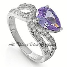 "'Art Nouveau ""Tanzanite"" Ring' is going up for auction at  9pm Sat, Aug 25 with a starting bid of $12."