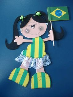 copa do mundo junina15 Play To Learn, Illustrations And Posters, People Around The World, Party Themes, Themed Parties, Diy And Crafts, Alice, Christmas Ornaments, Holiday Decor
