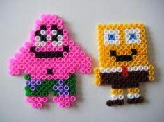 Spongebob - Bügelperlen http://mistertrufa.net/librecreacion/culturarte/?p=12