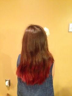 My red kool aid hair!!!!!