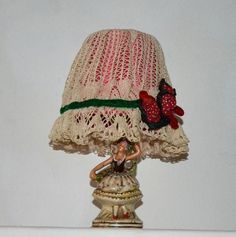 Tischlampe, Lampe, Ballerina von flower couture auf DaWanda.com