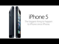Official iPhone 5 launch video