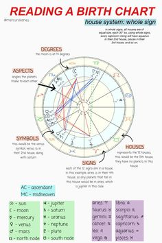 Astrology Chart, Astrology Zodiac, Zodiac Signs, Horoscope, Ying Y Yang, Brain Book, Witch Spell Book, Tarot Card Meanings, Tarot Spreads