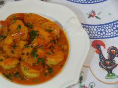 Camarao a Mocambique - Portuguese Shrimp Mozambique video recipe from Tia Maria's Blog