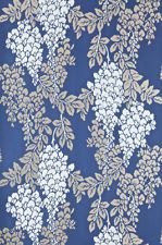 FARROW AND BALL LUXURY WALLPAPER WISTERIA COLLECTION BLUES BP2220