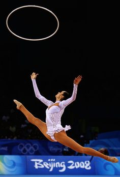 Anna Bessonova of Ukraine - 2008 Olympic Games