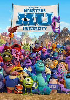 Monsters University - 3.5 Stars