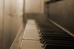"""playing the piano--when I start feeling anxious about all the """"unknowns"""" in life, it feels good to sit down & play--knowing exactly what sound is going to come from hitting each key"""