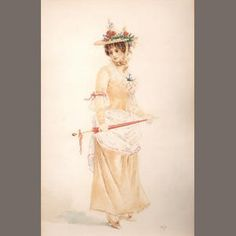 Henri Lenoir (early 20th Century French) 'Elegant ladies.'