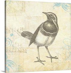 Engraved Birds II