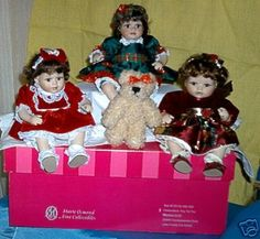Marie Osmond Trio of Cute Dolls on Ebay.