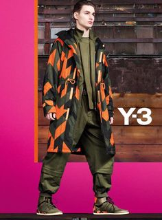 Check out the new @y-3 Autumn/Winter 2013-14 campaign which speaks to the bold energy at the brand's core. #adidas #Y3 #campaign