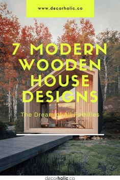 Wood is a building material that is synonymous with comfort and tranquility. Combined with beautiful panoramic beauty and also advances in architectural technology, modern wooden houses can be the most valuable asset for every family that has them. #decorholic #woodenhome #woodenhouse #modernwoodenhome #modernstyle #homedesign #architecture #homearchitecture