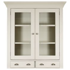 Buy Padstow Small Glazed Hutch - Off White  online from our Style Our Home. See our other Mark Webster products.