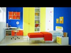 Modern kids bedrooms designs from HomeSpirations.