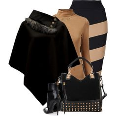 A fashion look from January 2015 featuring Witchery skirts and Giuseppe Zanotti sandals. Browse and shop related looks.