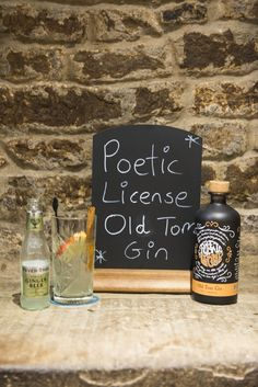 Poetic License Old Tom Gin #DevonshireArms #DevonshireLife #Beeley #Derbyshire #Chatsworth #ChatsworthEstate #pub #gastropub #gin #ginandtonic #PeakDistrict #travel #foodie #artisan #giner #PoeticLicense #OldTomGin