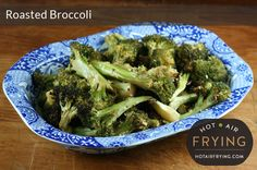 A nice slow roast in a paddle-assisted air fryer such as an Actifry™ brings out a sweet taste and semi-crispness in broccoli. Yet, this is quick enough Fried Broccoli, Broccoli Recipes, Air Fryer Recipes Vegetables, Vegetable Recipes, Low Fat Vegetarian Recipes, Healthy Recipes, Actifry Recipes, Nice And Slow, Slow Roast