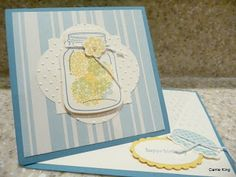 Create in the Sun: Cheery card with a new fold
