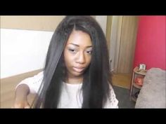 Beahairs.com Tutorial--how to install my kinky straight hair--- best for...