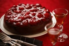 Impress The Guests: Decadently Rich Port And Chocolate Christmas Cake