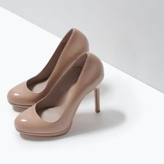 ZARA - WOMAN - HIGH HEEL PLATFORM COURT SHOE