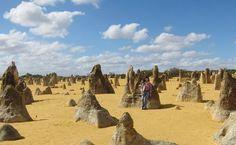 Pinnacles in Perth, Australia.