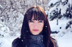 let_the_snow_fall_girl portrait snow