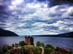 #Loch ness #Scotland #Nessie Loch Ness Scotland, About Uk, Most Beautiful, Places To Visit, Wanderlust, Mountains, World, Awesome, Water