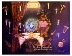 *she's been KreepyChic for decades!*  Madame Leota-The Haunted Mansion
