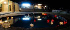 Decoración de alberca Hacienda Victoria Mexicali #Pool Decoration