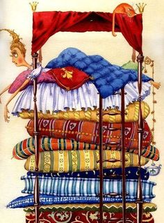 Princess and the Pea by Olga Popugaeva & Dmitriy Nepomnyaschiy