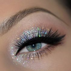 Glitter Eyeshadow Palette Boots Its Best Glitter Glue Makeup - Glitter Eyeshadow . Glitter Eyeshadow Palette Boots Its Best Glitter Glue Makeup - Glitter Eyeshadow . Glitter Eyeshadow Palette Boots Its Best Glitter Glue Makeup - Glitter Eyeshadow . Makeup Eye Looks, Eye Makeup Art, Cute Makeup, Skin Makeup, Eyeshadow Makeup, Prom Makeup, Angel Makeup, Movie Makeup, Clown Makeup