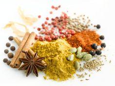 Los beneficios medicinales de algunas especias: azafrán, cardamomo, clavo, cúrcuma, cayena, nuez moscada, canela y vainilla
