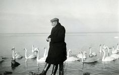 My great grandfather at the IJselmeer