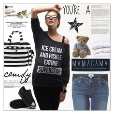 """""""Moms are the real superstars!"""" by purpleagony ❤ liked on Polyvore featuring Ju Ju Be, Lexington, women's clothing, women, female, woman, misses and juniors"""