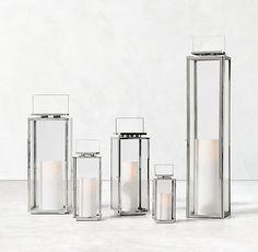 Amalfi Lantern - Polished Nickel