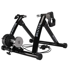 New Deuter Bike Trainer, Magnetic Bicycle Stationary Stand Indoor Exercise Riding, Portable, Quick Release Skewer & Front Wheel Riser Block Included online shopping - Topbrandshits Bicycle Rollers, Exercise Bike For Sale, Indoor Bike Trainer, Bicycle Stand, Bike Shelf, Mountain Bikes For Sale, Gyms Near Me, Bicycle Workout, Trainers