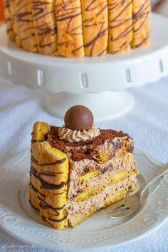 Romanian Desserts, Romanian Food, Food Cakes, Something Sweet, Mcdonalds, Nutella, Tiramisu, Cake Recipes, Caramel